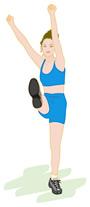 運動不足はセルライト増大に繋がります